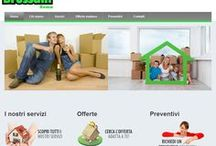 Traslochi Brussani / Site developed for a company specialized in removals since 1957 in Rome. http://www.traslochibrussani.it/