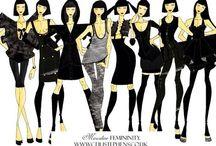 Ceili Stephens Fashion / Fashion design and illustration
