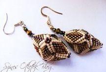 earrings beaded lessons & tutorials