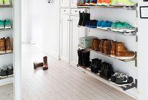 rangement/couloir/chaussures/manteaux/sacs