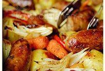 dinner - sausage