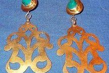 Earrings / Afghan tribal Kuchi earrings