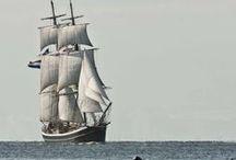 Парусники и лодки