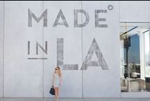 Made in Los Angeles / Eco-friendly pieces made right here in Los Angeles