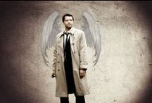 "♥CASTIEL♥ - Angel of the Lord /  "" ↪ ... I'm the one who gripped you tight and raised you from Perdition ...  ↩ "" ... Damn Dean!!! .. he is so Iucky to have an Cass in his life, I wish I'd have one too :( .. I just luv u Cas ... I love u to pieces <3"