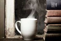 Coffee and a Book / Reading is an experience and these pictures make me want to live it... now please.
