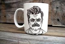 Coffee Mugs and Tea Cups