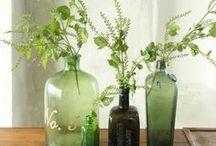 bottles & glass