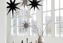 ❥ Kerst sfeer / Kerst sfeer zwart wit