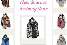 Scarves Autumn / Winter 2017 / New scarves, lovely designs and colours
