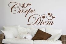 Wanddesign / Wandtattoos / Wandzitate / Edles Wanddesign, das jeden Raum - egal ob privat oder gewerblich - mit Ziaten, Sprüchen, Worten oder Tattoos verschönern...