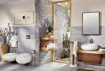 Bathroom Ideas / So many ways to renovate your bathroom, hope these help.... / by Pacific Island Girl