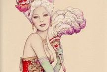 Burlesquey and corsetty / Corsets and Burlesque