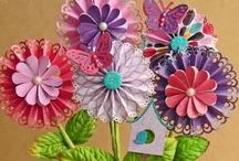 Paper Rosettes, Pinwheels & Stars