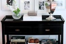 Entry console / buffet / by Linden Haus