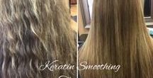 Our Keratin Smoothing Treatments