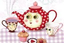 Teacup Art