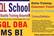 SQL School Board / SQL School Board for SQL Server Trainings, SQL DBA Trainings and MSBI Trainings.  Free demo Registration @ http://sqlschool.com/contact.html