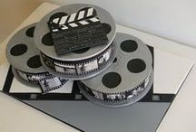 Cinema and Movie Themed Cakes / These cakes feature themes from movies or from the world of theater. Whatever your favorite movie, tv show, character you love, we can create a cake for it!