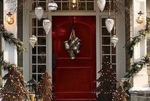 Welcome Home / Welcome your family and guests home with beautiful front door and porch decorating ideas.