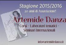 ARTEMIDE Danza Corsi & Attività / ARTEMIDE ❅ per essere al centro della danza ❅ A.S.D. e C. affiliata ARCI/UISP    info@artemidedanza.it - www.artemidedanza.it  011 3583014 – 347 7132580