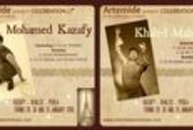 Artemide Workshops / seminari con maestri internazionali sito: www.artemideworkshops.com