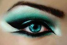 Eye makeup on fleek / Dramatic, extravagant, crazy eye makeup!
