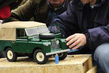 Land Rover Siia 1964 SWB 1/8 / Land rover 1/8 scale model miniature automobile