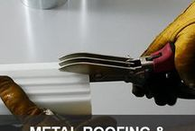 Metal Roofing & Gutter Tools / All the stuff you need to work on metal roofing & gutter projects.