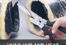 HVAC (Air and Heat Duct) Tools / The tools of the HVAC trade that anyone can use.