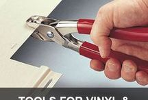 Tools for Vinyl and Cement Board (Hardi) Siding Projects / If you're doing a vinyl siding or fiber cement siding project, these tools are invaluable.