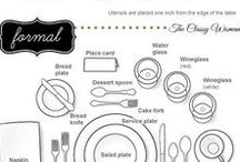 Planning a party? / Helpful guides for party planning from dinners to events