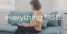 everything MSB. / live smarter.