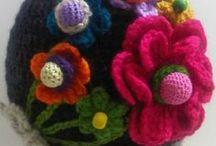 My crochet hats / Handmade crochet hats that I love to do