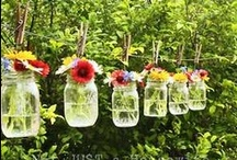Garden And Landscaping Ideas  / Check out these ideas to brighten up the exterior view of your home!