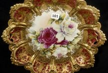 BEAUTIFUL PLATES AND PLATTERS / by Delores Beachdell