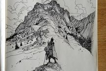 art: pen and ink