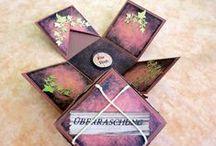 K´s / Creativ, Explosionsboxen, Scrapbooking, Zentangle