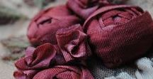 Ribbon / Silk Ribbon Embroidery