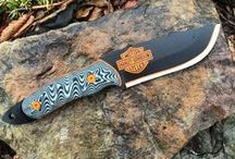 Custom Themed Knives / If you think it we can make it.  Themed Knives. / by DMO Knives