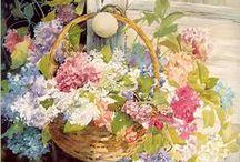art - Акварель-цветы
