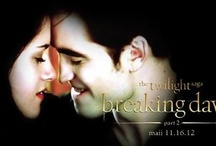 Twilight...Nuff said. / The books were the begining of my obsession but the movies just keeps it alive. / by Millie