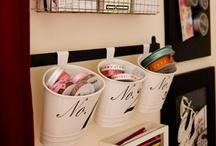 Organització | Organización / Ideas para la organización del hogar y tus útiles de manualidades y costura