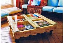 Decoración   Industrial, Pallet y reciclaje / Todo tipo de muebles y otros complementos para el hogar realizados con palets y elementos reciclados / by Joana   Una Ment Inquieta