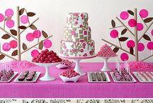Fiestas | Mesas dulces, dessert tables / Ideas para decorar y personalizar tus celebraciones