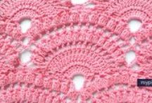 Crochet patterns, designs