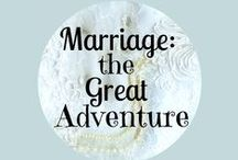 "Marriage, The Great Adventure / All Christian marriage posts welcome! Love is a choice we make every day! ""A cord of three strands is not easily broken."" (Ecclesiastes 4:12)"