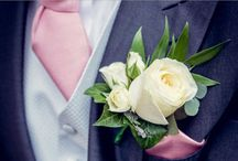 Buttonholes and Corsage for weddings / Guest flowers for weddings buttonhole corsages and wrist corsage