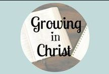 Growing In Christ / Articles to help grow my faith