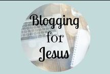 Blogging for Jesus / This is a board for Christian writers to pin your posts that encourage and inspire others in their walk with the Lord.  Pin your posts on faith, marriage, parenting, health, holidays and more! Please pin one pin on this board for every pin you leave. That way more people will see your posts. Whatever you are doing, work at it with enthusiasm, as to the Lord and not for people. (Colossians 3:23)